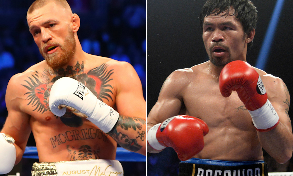 Conor McGregor says fight with Manny Pacquiao could happen in 2021 - Conor McGregor