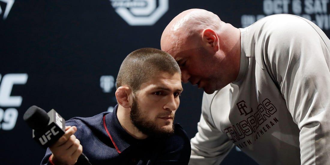 Khabib Nurmagomedov contradicts Dana White's claim of UFC return - Nurmagomedov