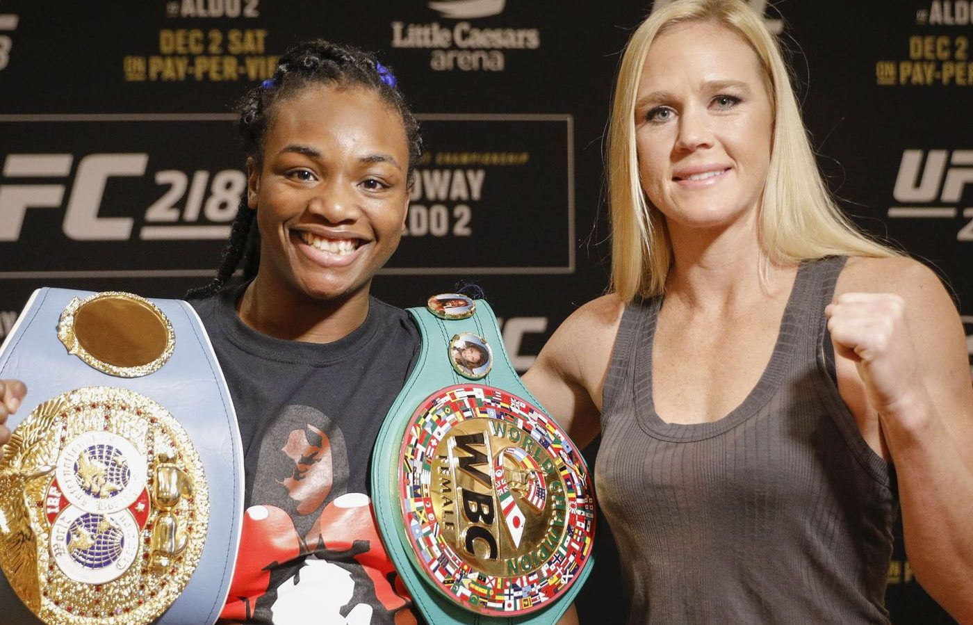 Holly Holm says Claressa Shields has tools and ambition to excel in MMA - Holly