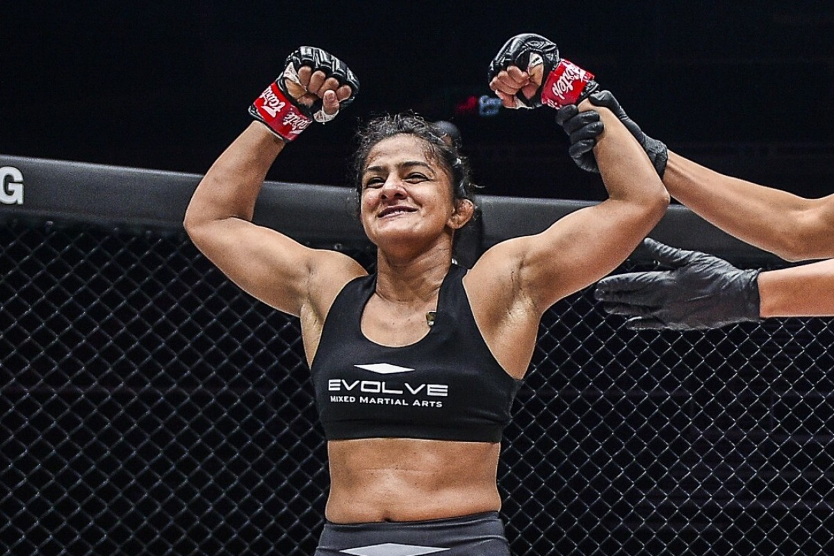 Ritu Phogat confident of becoming first-ever Indian World Champion in MMA history - Ritu Phogat