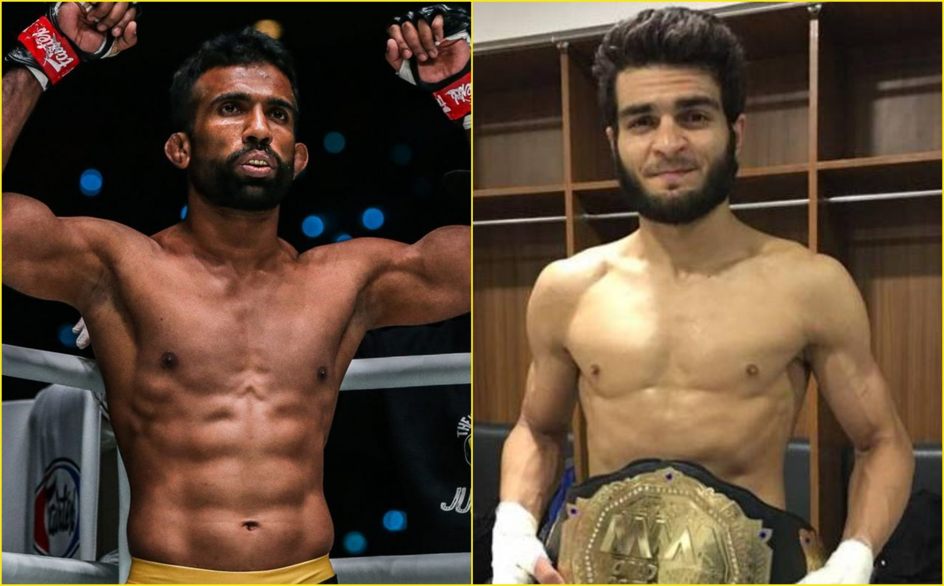 Rahul Raju: I Will Make Indian Fans Proud In Fight Against Mujtaba - Rahul Raju