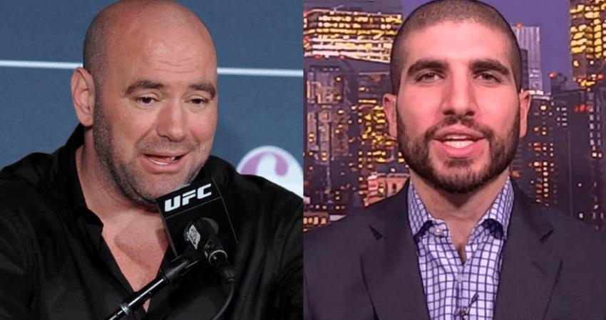 ESPN issues statement after Dana White calls Ariel Helwani a 'D**che' - Ariel Helwani