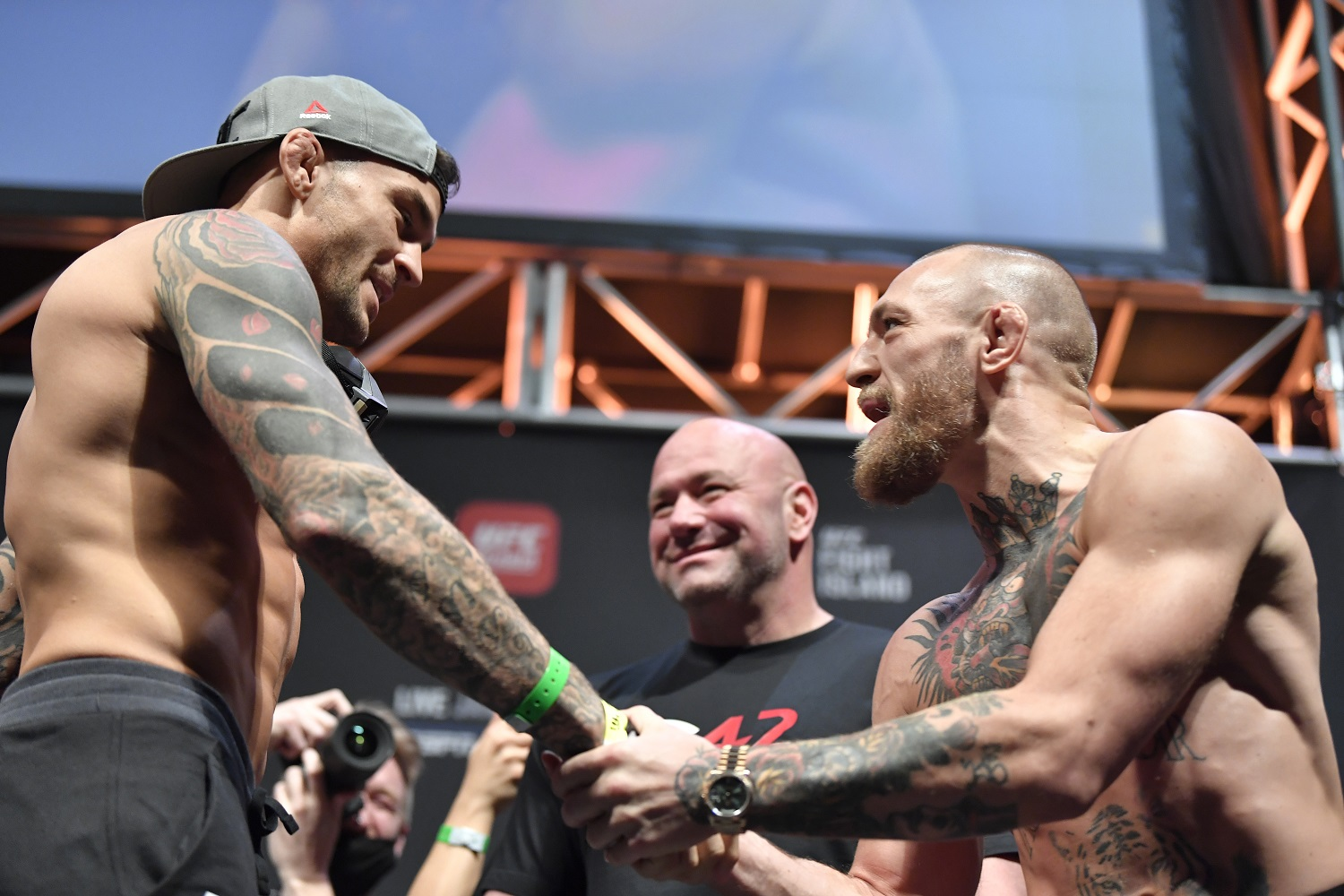 """Dustin Poirier says the Conor McGregor trilogy is a """"completely different fight,"""" expects it to happen in June or July"""