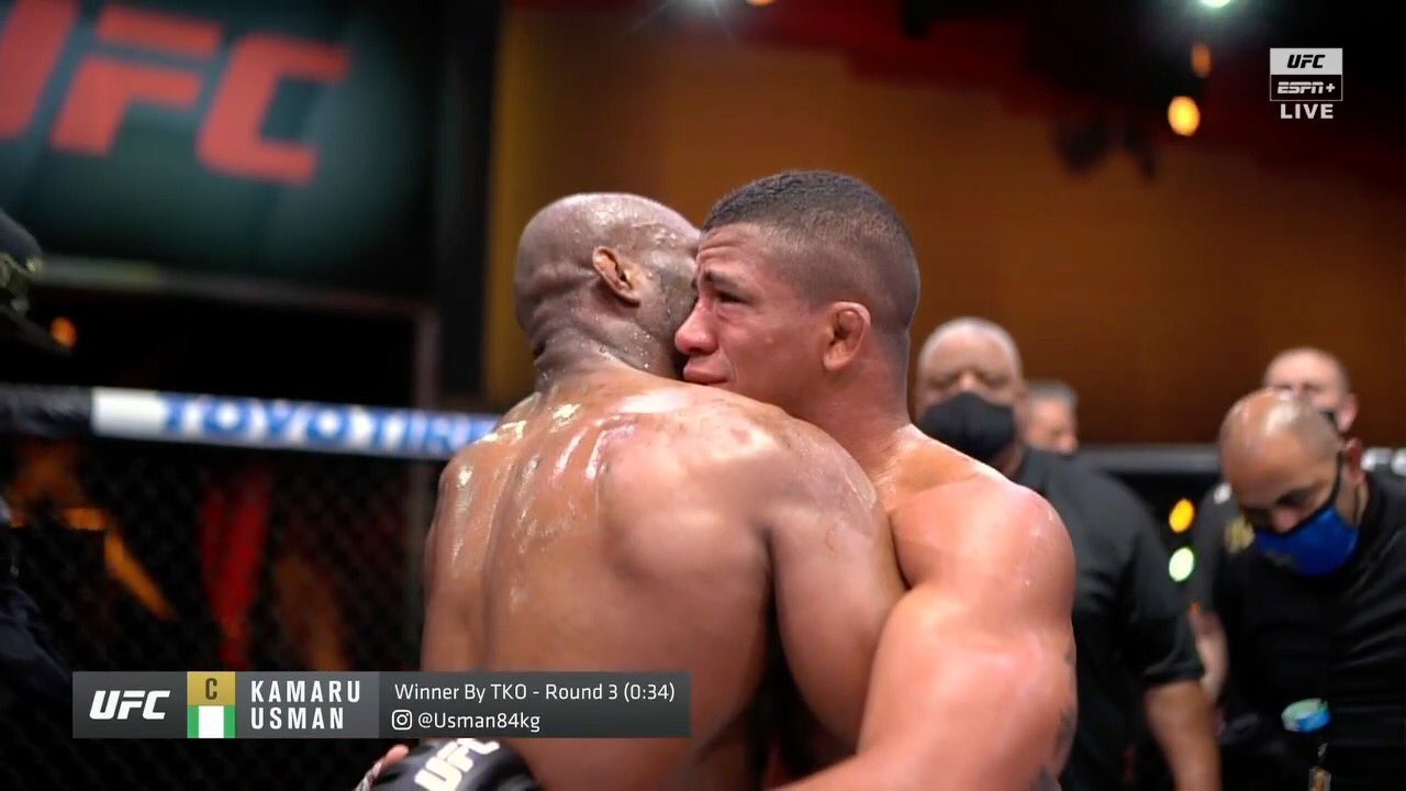 Gilbert Burns not fazed by loss to Usman, says he'll be champion or die trying - Gilbert Burns