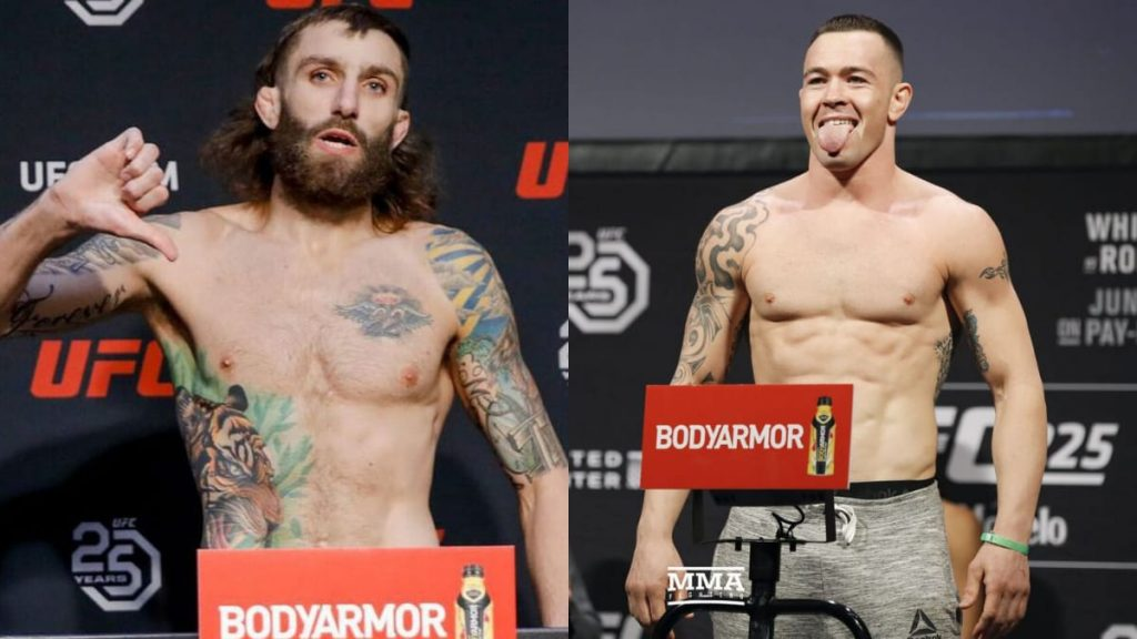 Michael Chiesa hoping to fight Colby Covington next - Michael Chiesa