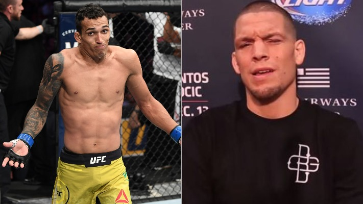 Coach says Charles Oliveira has no interest in fighting Nate Diaz - Oliveira
