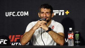 Beneil Dariush , UFC matchmaking, Sean Shelby