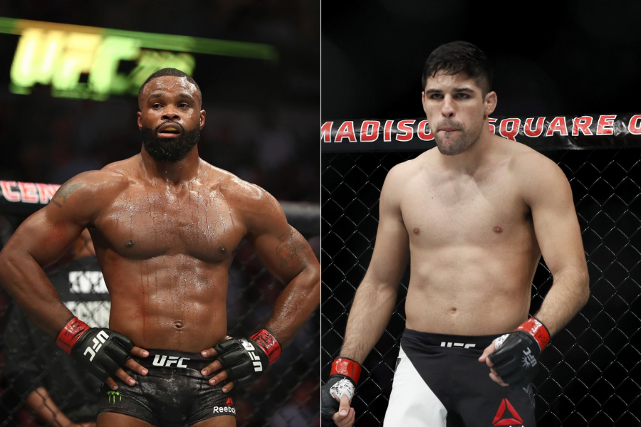Tyron Woodley to fight Vicente Luque at UFC 260 on March 26 - Tyron Woodley