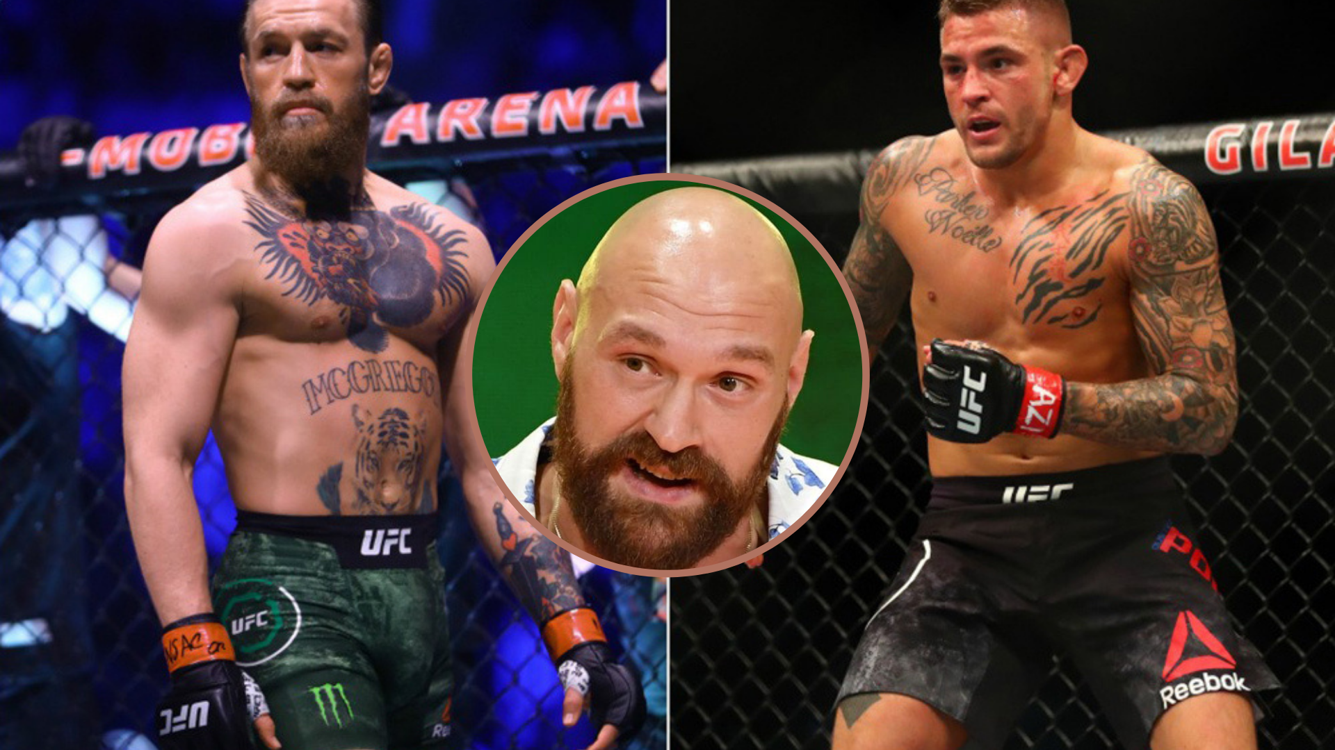 Tyson Fury says Conor McGregor would beat Dustin Poirier in the trilogy - Tyson Fury