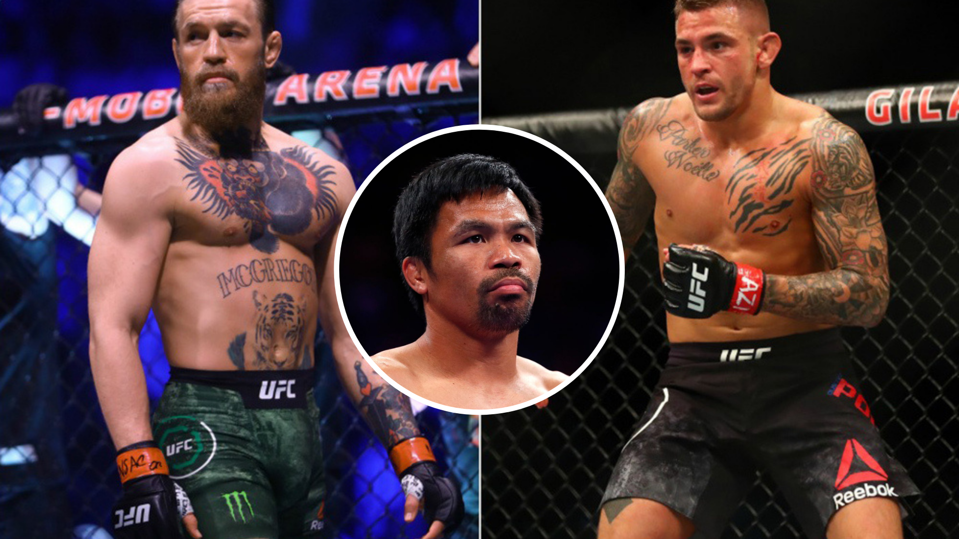Conor McGregor says he overlooked Dustin Poirier with eyes on Pacquiao fight - Conor McGregor