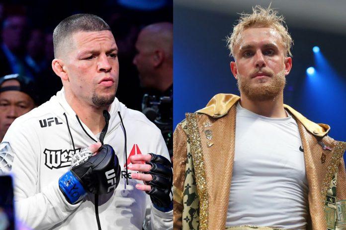 Nate Diaz vs Jake Paul vs Conor McGregor