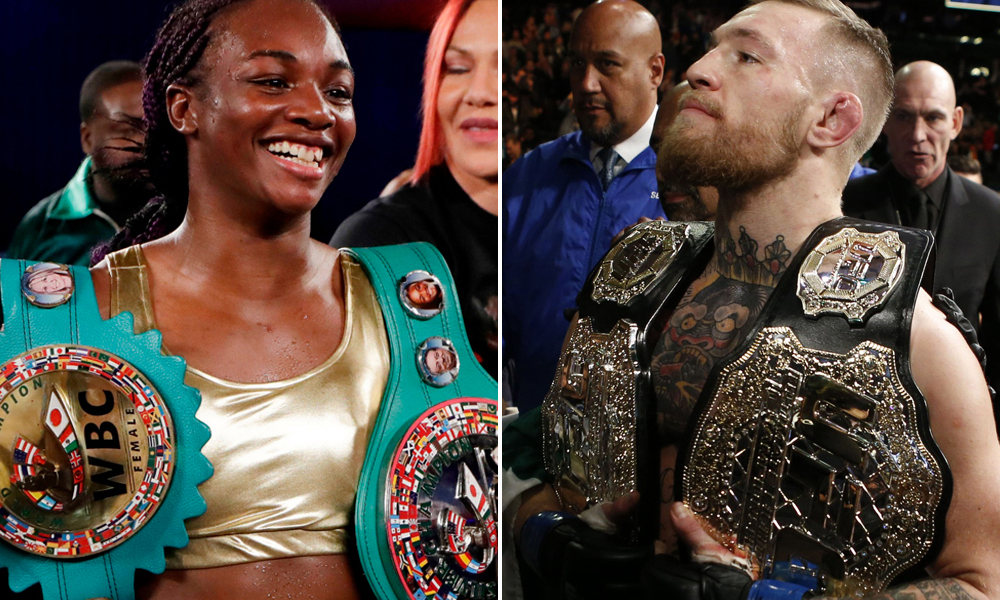 Claressa Shields thanks Conor McGregor for his support - Claressa Shields