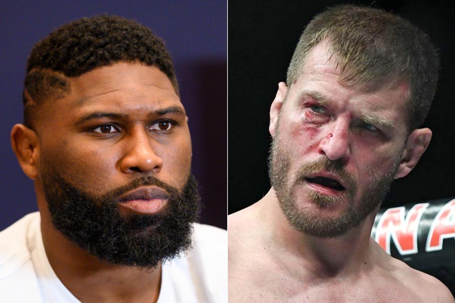 Curtis Blaydes calls Stipe Miocic 'GOAT' of the heavyweight division - Curtis Blaydes