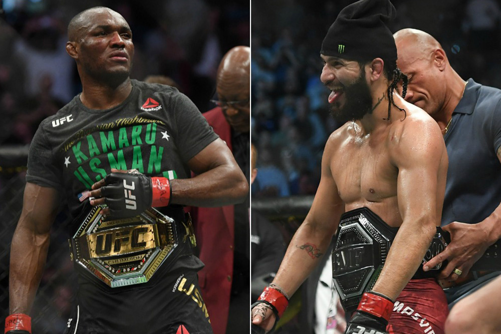 Jorge Masvidal says he'll fight Kamaru Usman for the Welterweight title in September - Masvidal