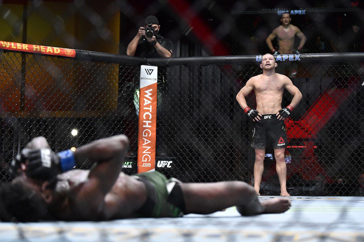 Dana White reacts to Petr Yan vs. Aljamain Sterling fight at UFC 259 - White