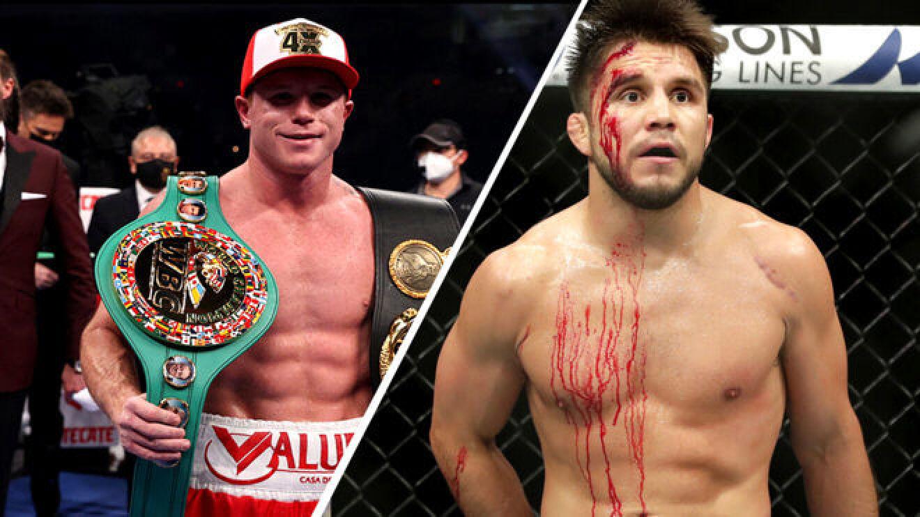 Henry Cejudo confronts Canelo Alvarez over a potential Ryan Garcia fight - Cejudo