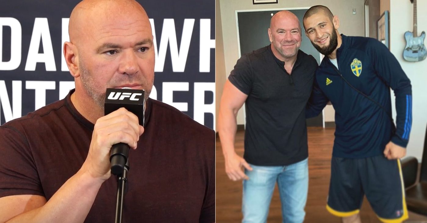 Dana White uncertain about Khamzat Chimaev's fighting future - Khamzat Chimaev