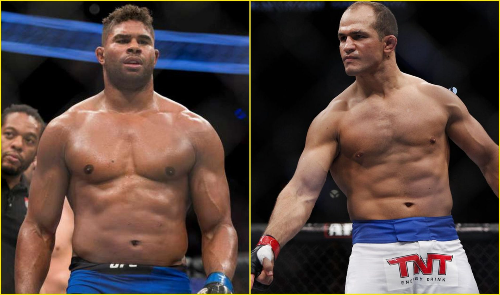 Junior Dos Santos and Alistair Overeem no longer with the UFC - Alistair Overeem