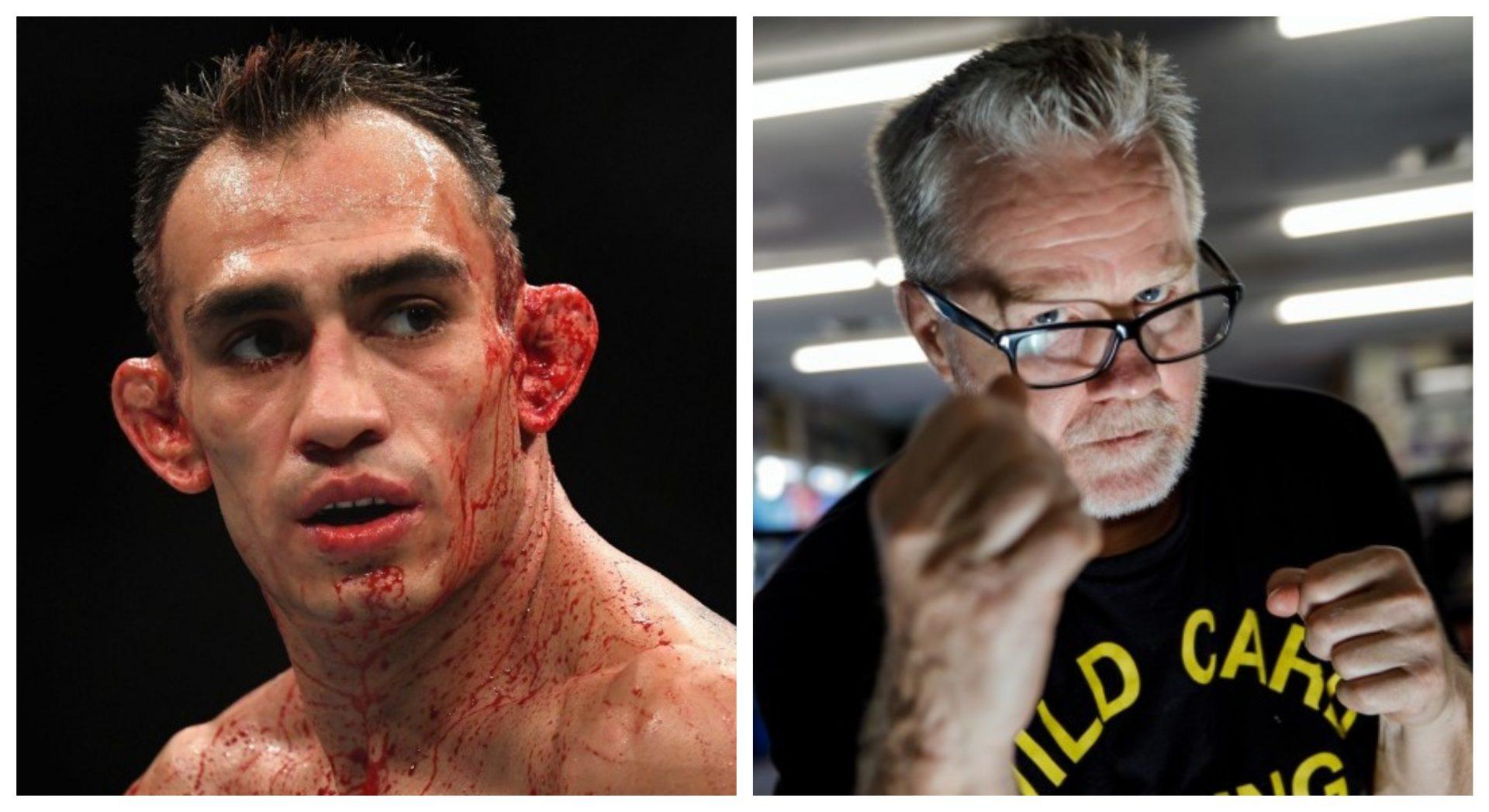 Tony Ferguson details his newfound alliance with legendary boxing coach Freddie Roach - Ferguson