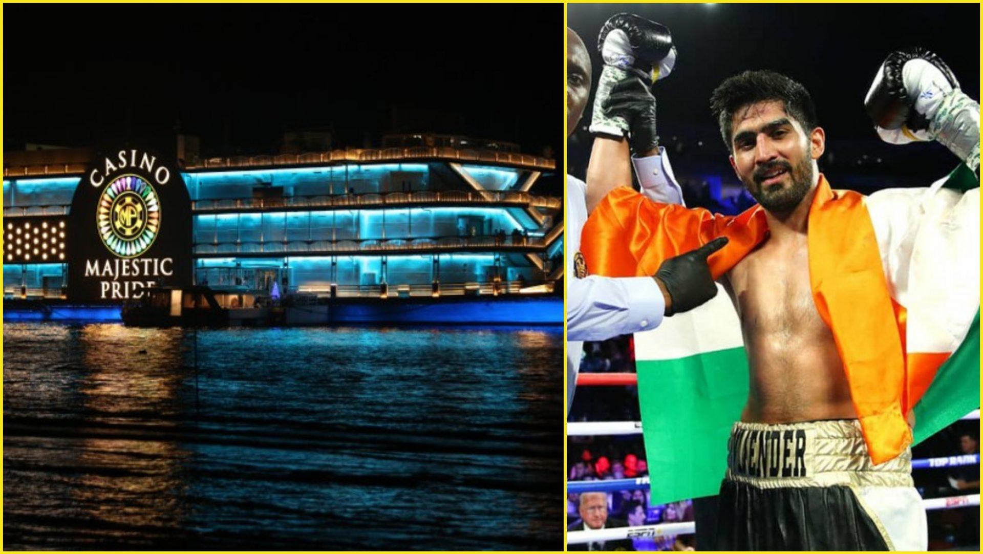 Vijender Singh to fight in a Casino ship in Goa on March 19 - Vijender Singh
