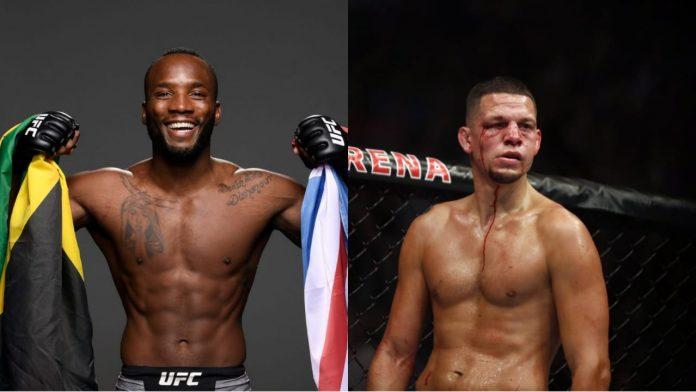 Leon Edwards vs Nate Diaz at UFC 262