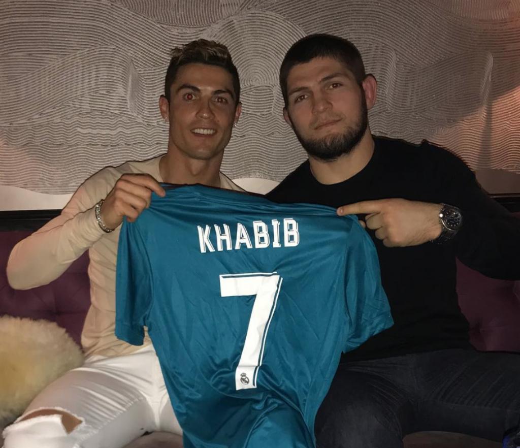 Cristiano Ronaldo shares his biggest fear with Khabib Nurmagomedov - Khabib