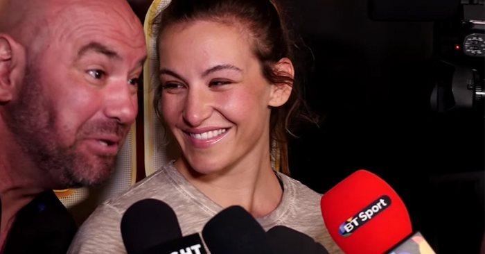 Dana White concerned about Miesha Tate's nose ahead of her comeback fight - Miesha Tate