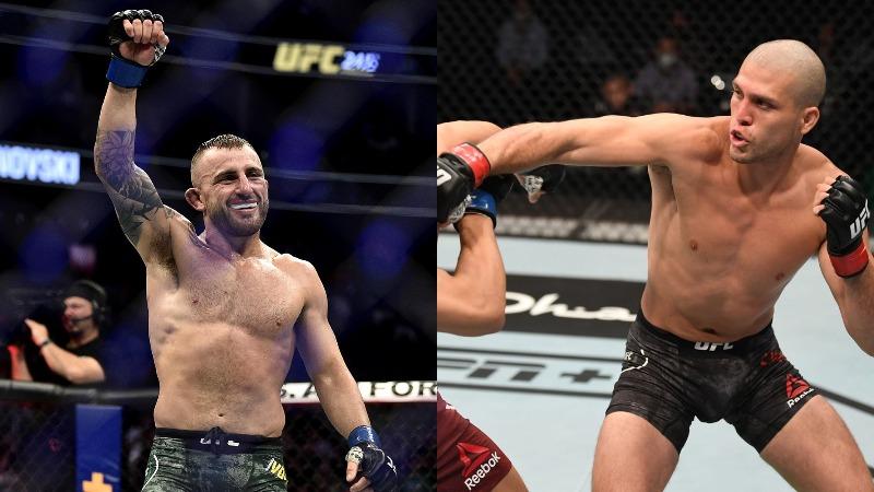 Alexander Volkanovski vs Brian Ortega cancelled from UFC 260 - Volkanovski