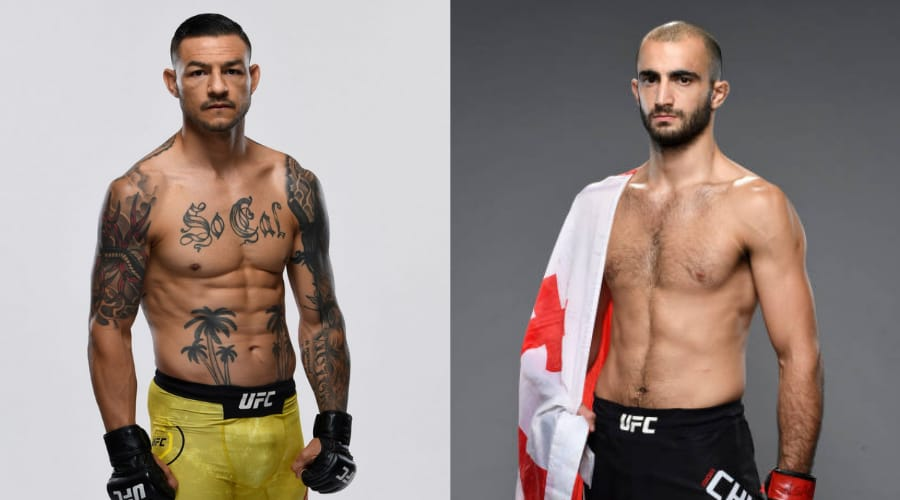 Cub Swanson vs Giga Chikadze set for UFC Fight Night card in May - Swanson