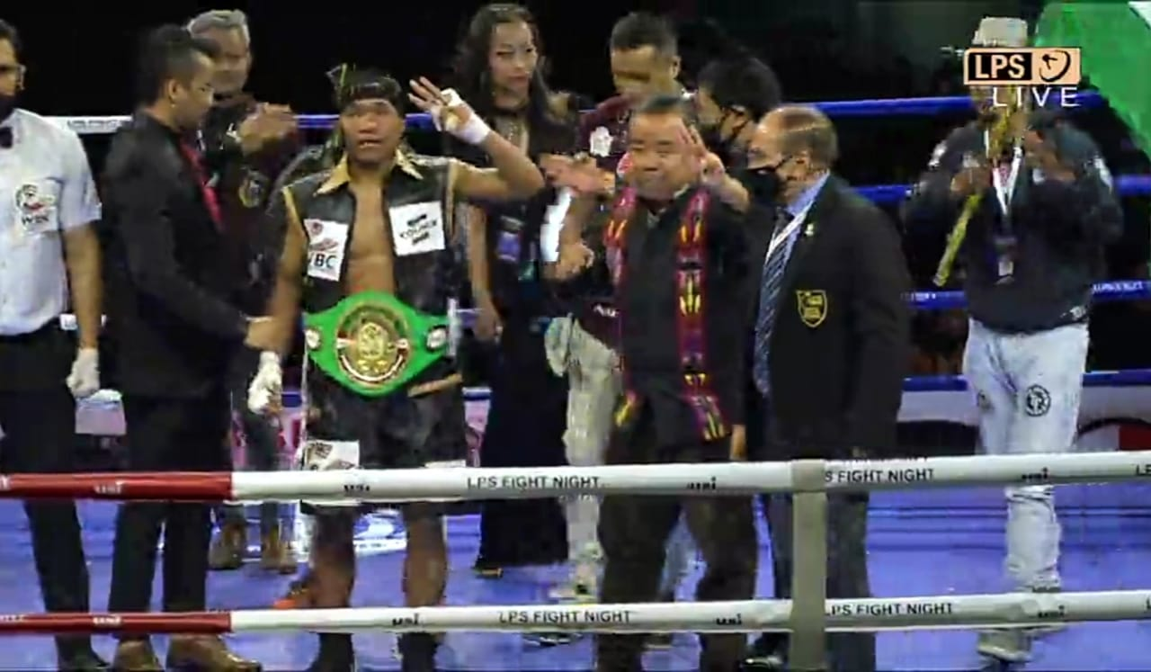Lalrinsanga Tlau becomes the new WBC Youth World Super Featherweight Champion - Lalrinsanga Tlau