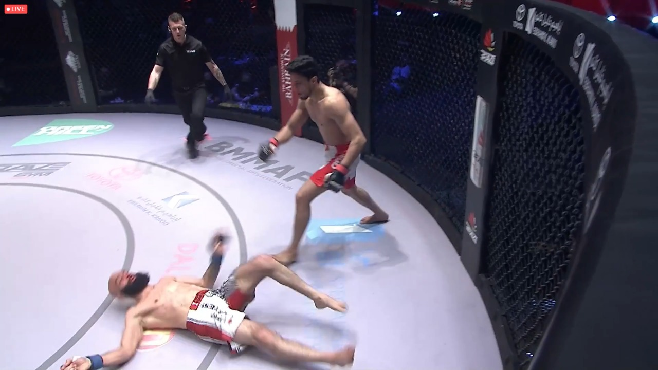 VIDEO: Mohammed Farhad brutally knocks out Uloomi Karim in Second round - Mohammed Farhad
