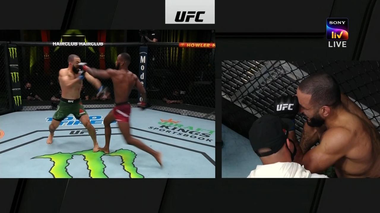 UFC Vegas 21: Leon Edwards vs Belal Muhammad ruled a No Contest after eye poke - Edwards