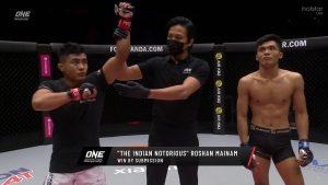 Roshan Mainam defeats Aziz Calim