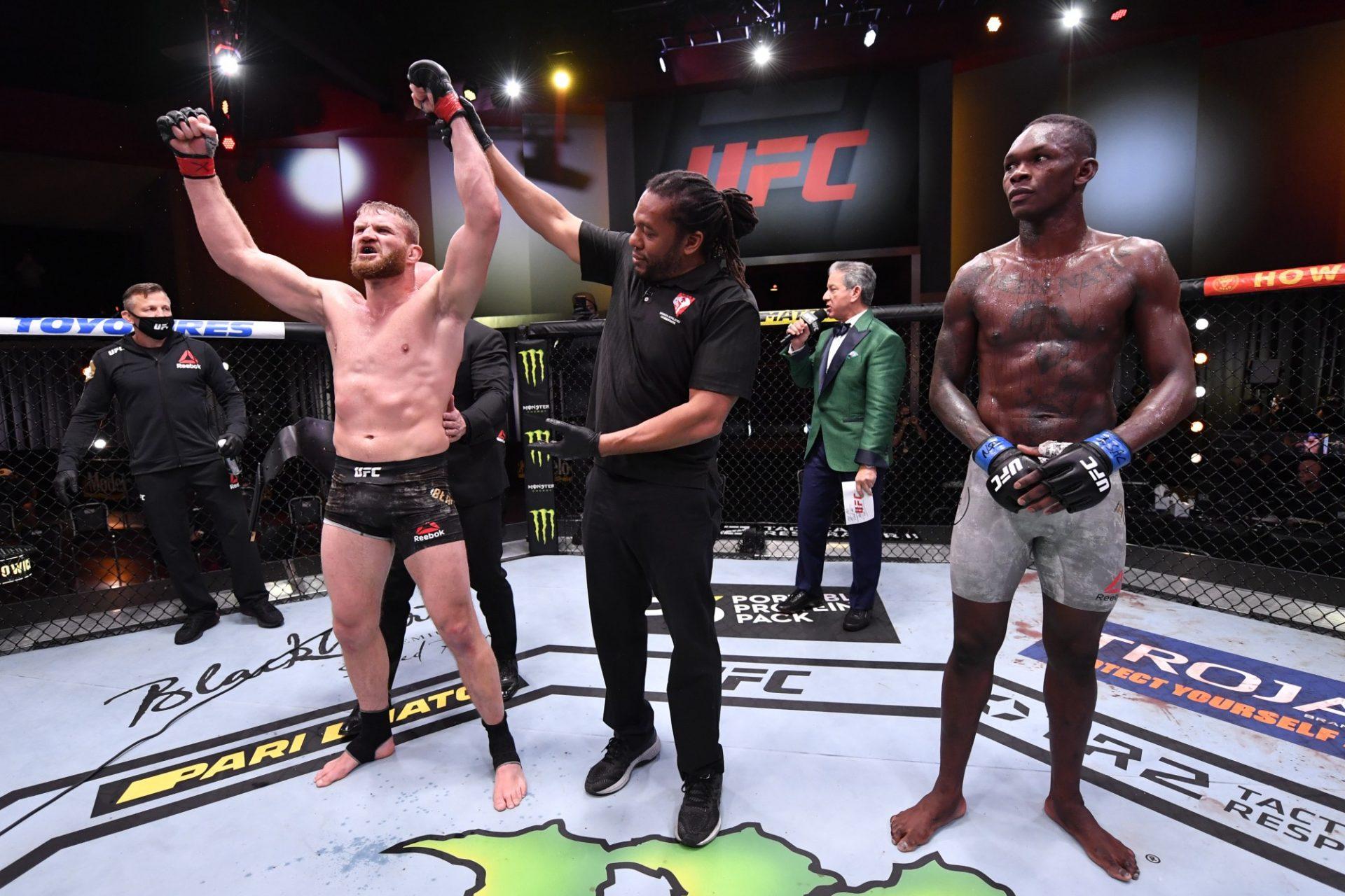 Israel Adesanya will eventually fight Jan Blachowicz in a rematch, says Coach - Israel Adesanya
