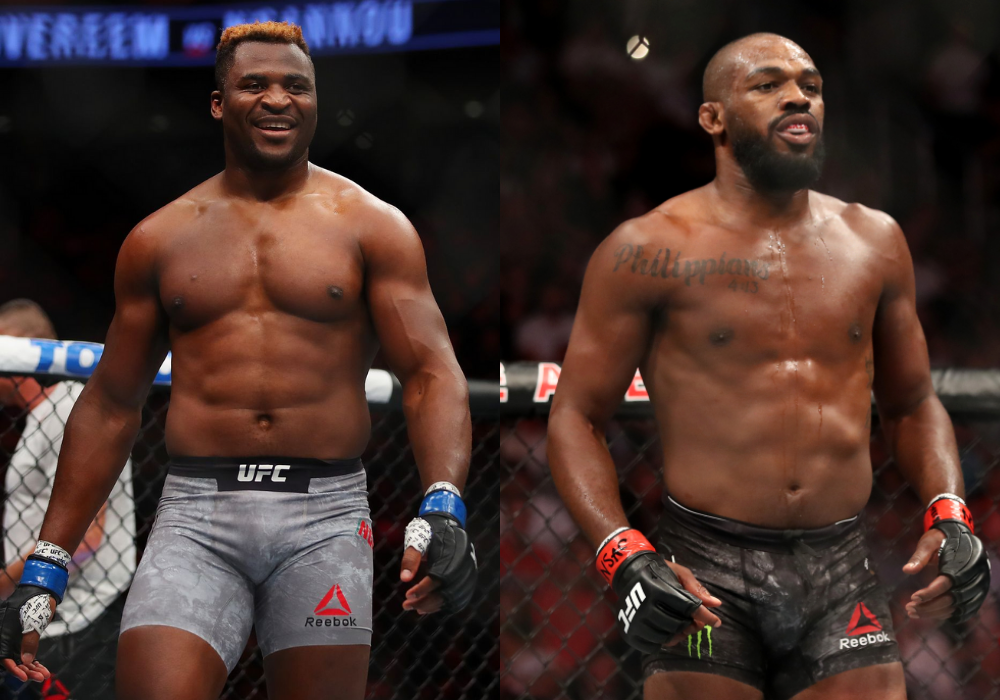 Coach says Jon Jones vs Francis Ngannou could be the biggest fight of all time - Ngannou