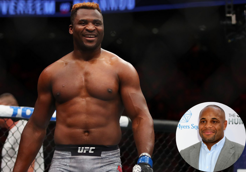 Daniel Cormier says if Francis Ngannou wins at UFC 260 he could become a global superstar - Ngannou