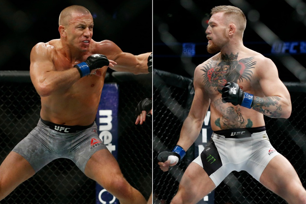 GSP offers advice to Conor McGregor after UFC 257 loss to Dustin Poirier - GSP