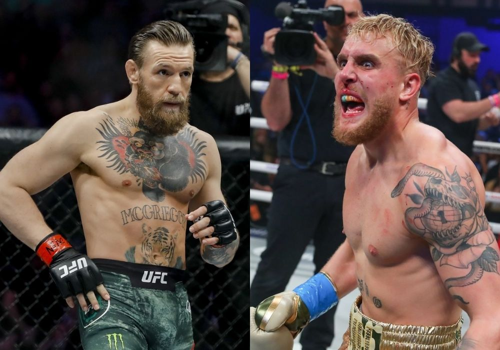"""Jake Paul says Conor McGregor needs to get another win before they fight: """"I'm Conor's money fight"""" - Mcgregor"""