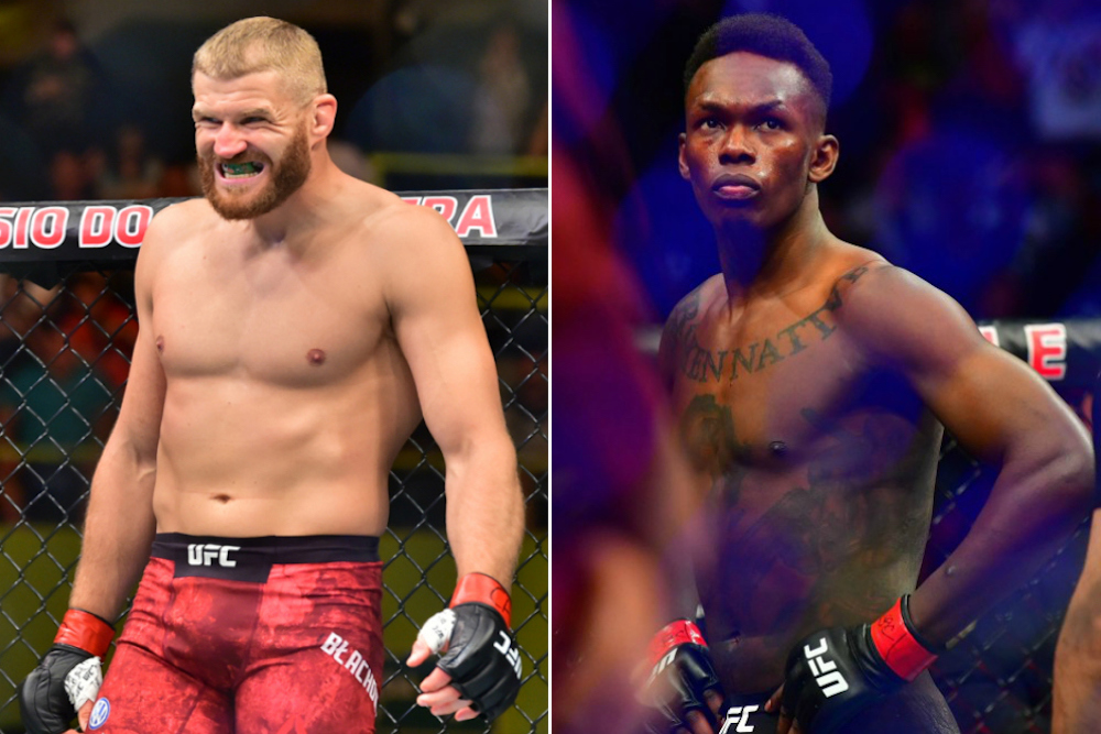 Israel Adesanya says Jan Blachowicz won't be able to touch him in their fight at UFC 259 - Adesanya