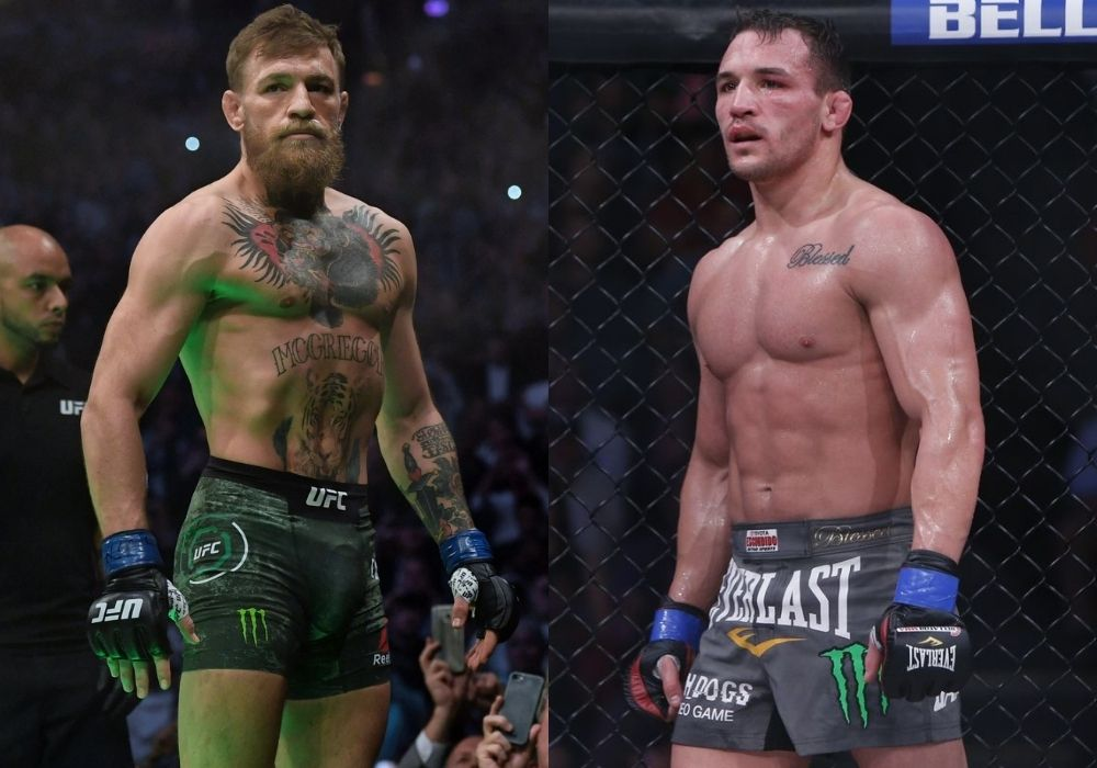 Michael Chandler thinks his first title defense fight will be against Conor McGregor - Chandler