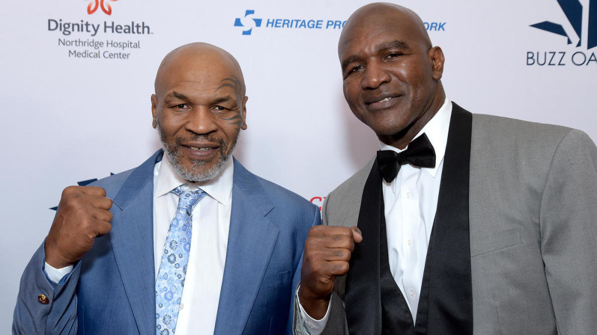 Mike Tyson to fight Evander Holyfield on May 29 - Mike Tyson