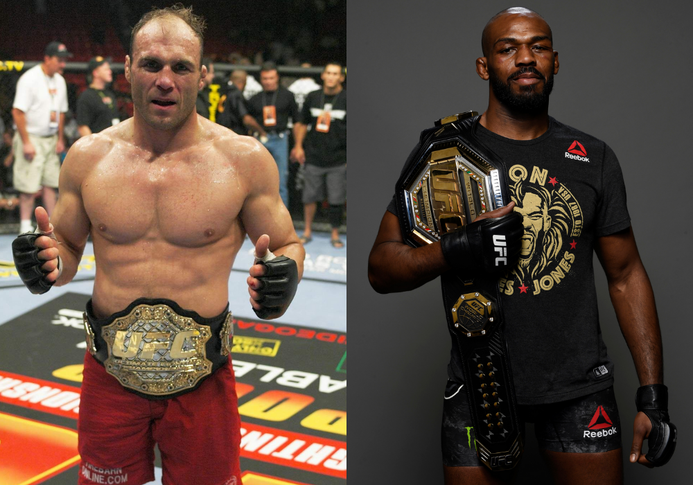 Randy Couture says he is interested to see Jon Jones perform at Heavyweight - Couture