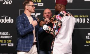 Francis Ngannou vs Stipe Miocic odds and prediction