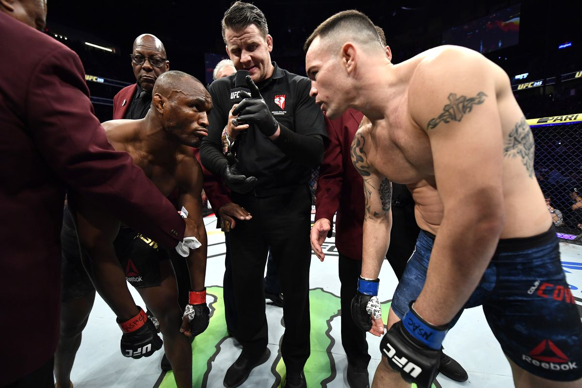 Colby Covington asks Kamaru Usman to show some balls and fight him again - colby