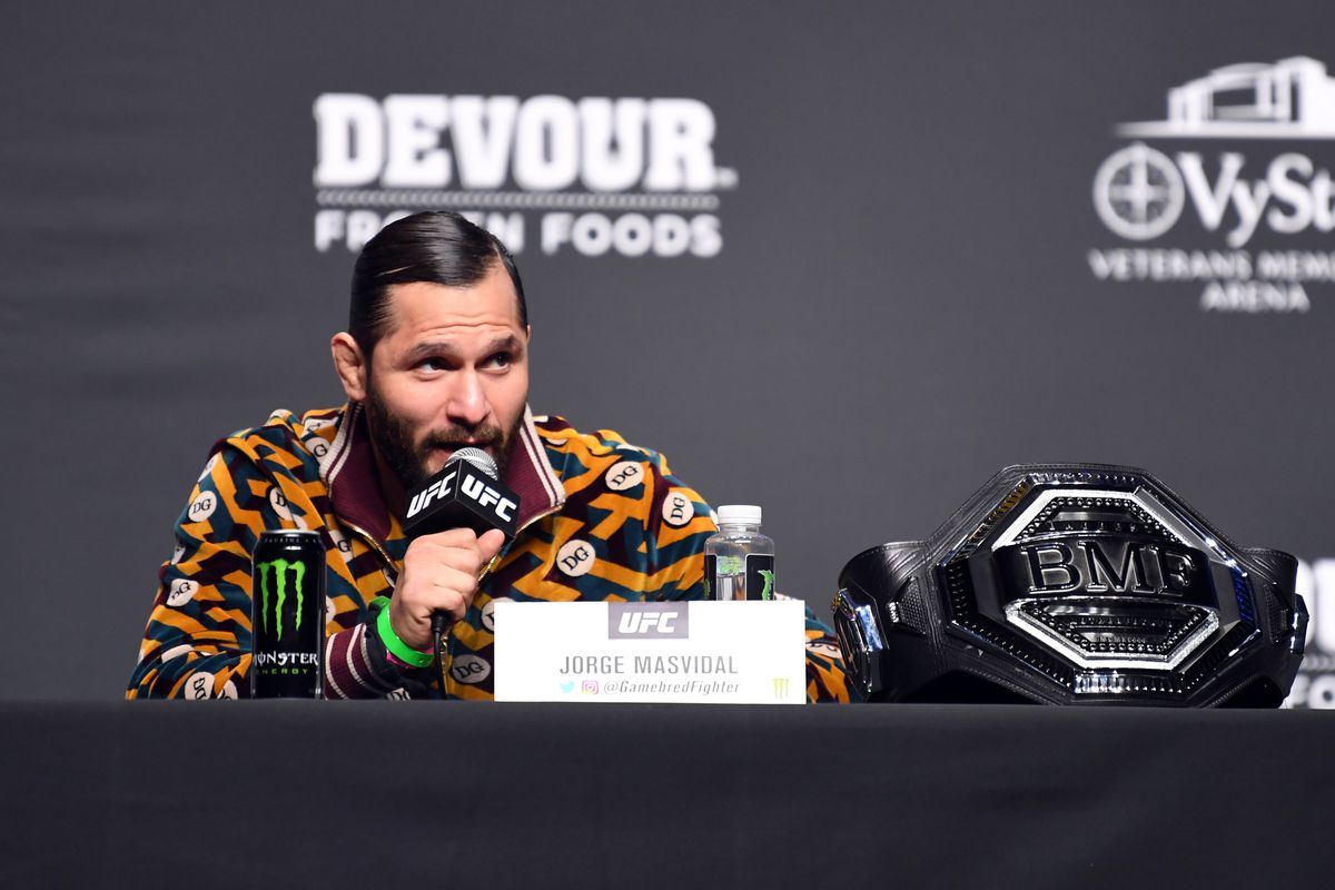 Jorge Masvidal launches bareknuckle MMA promotion called 'Gamebred Fighting Championship' - Jorge