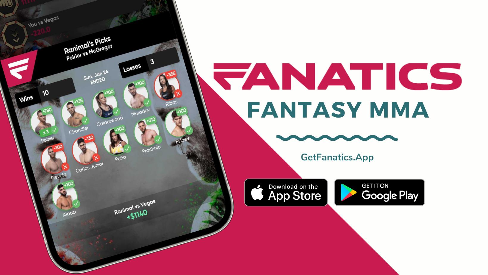 Fanatics Fantasy MMA enters the Daily Fantasy Sports industry with a focus on Asian MMA - fanatics
