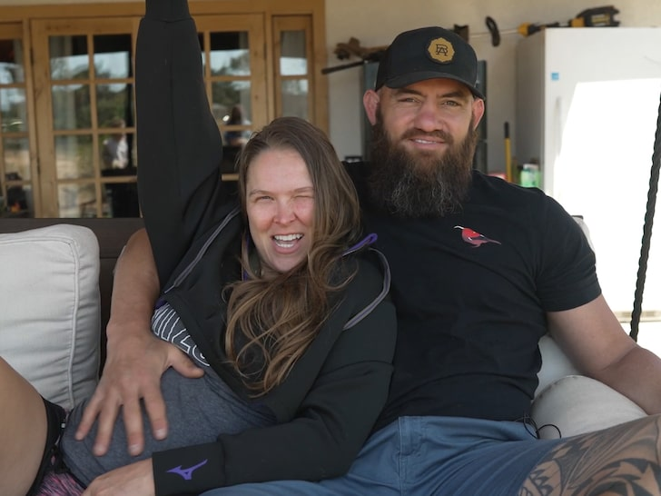 Ronda Rousey announces she is pregnant on her YouTube channel - Ronda