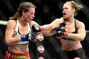 Miesha Tate vs Ronda Rousey 3
