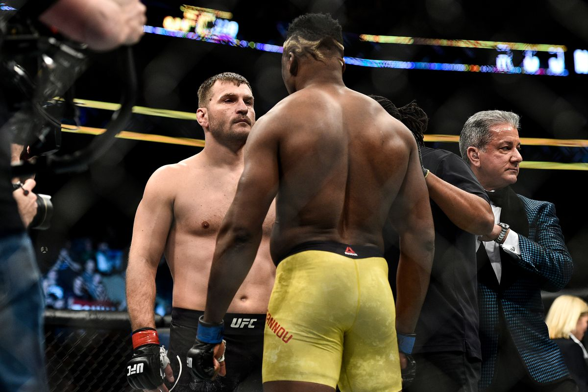 Stipe Miocic targeting a trilogy fight with Francis Ngannou - Miocic