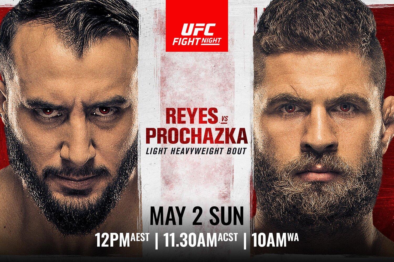 UFC on ESPN: Reyes vs. Procházka - Reyes